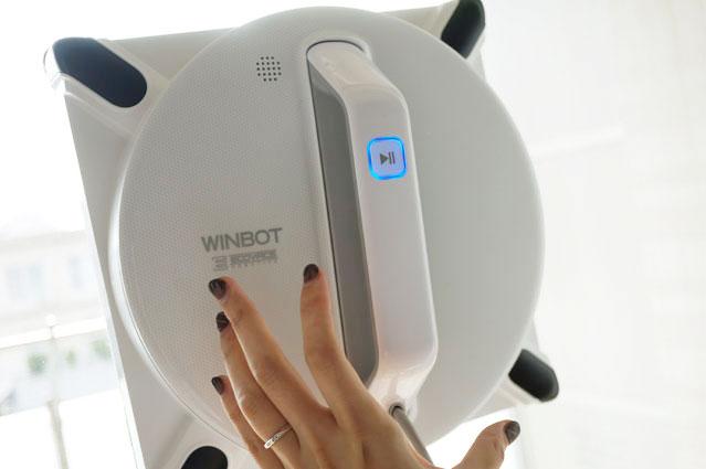 窓用ロボット掃除機 ガラスクリーニングロボット WINBOT 950